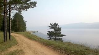 На берегу Ангары.