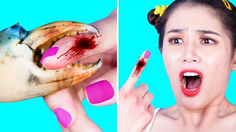 Girl DIY! LIFE HACKS CAN HELP GIRLS SURVIVE | EMERGENCY LIFE HACKS | SURVIVAL HACKS TIPS SAVE LIFE