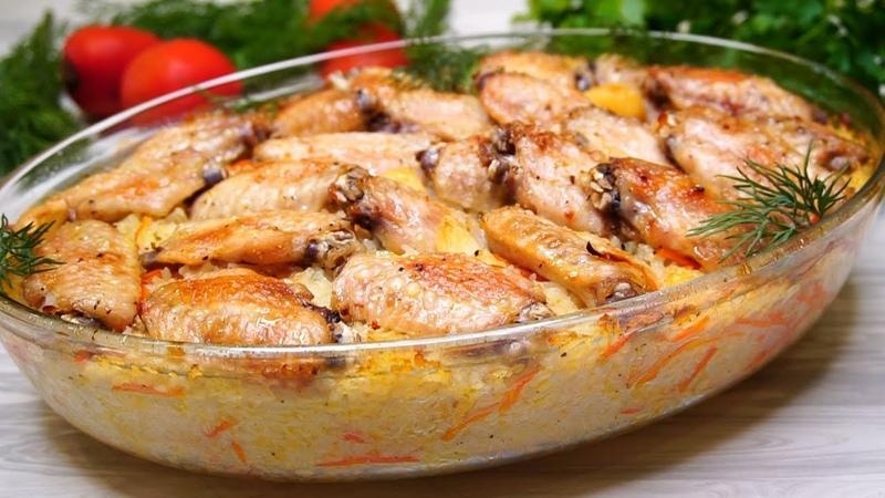 Потрясающий Обед для всей семьи Самые простые ингредиенты а результат обалденный