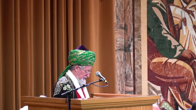 Выступление верховнного муфтия Талгата Таджуддина на пленарном заседании XXIII ВРНС