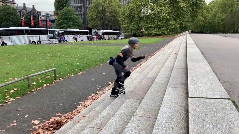 Why I Love to Skate Edwina Ellis 73 years old inspiring inline skater