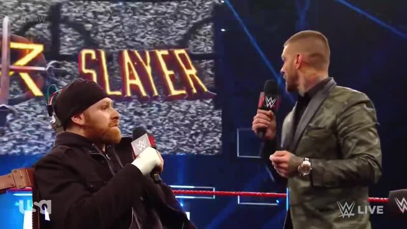 Seth Rollins vs Sami Zayn WWE Raw 5/27/19