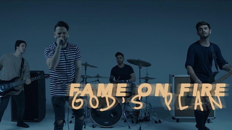 God's Plan Drake Fame On Fire Rock Cover Trap Goes Punk