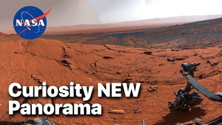 Curiosity Rover Took This 4K 360-degree Panorama Atop 'Mont Mercou' on MARS