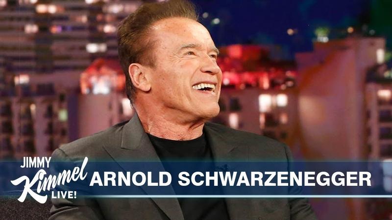 Arnold Schwarzenegger on Son in law Chris Pratt Pranking Sylvester Stallone Terminator s Return