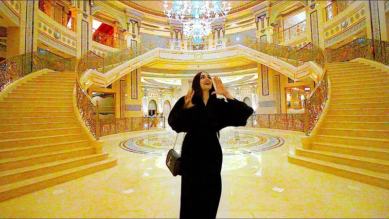 Very cute video of youtubers visiting our palace The Ritz Carlton Riyadh 3