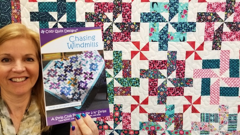 IT'S A ONE BLOCK WONDER QUILT Chasing Windmills Tutorial