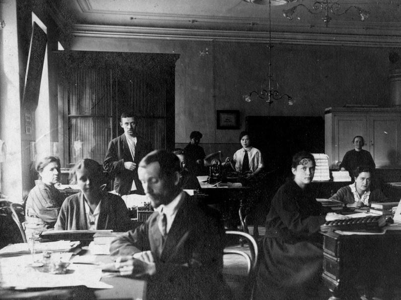 Канцелярия Союза Евангельских Христиан, Ленинград, 1925 год