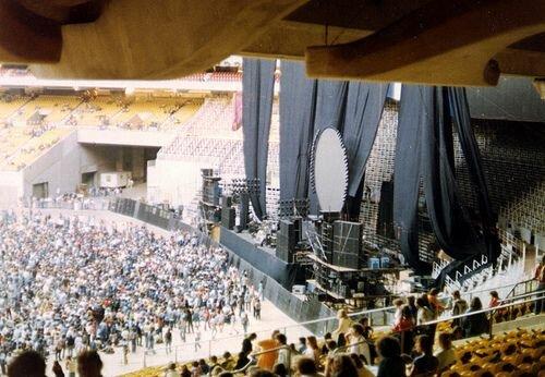 Концерт на одном из лондонских стадионов