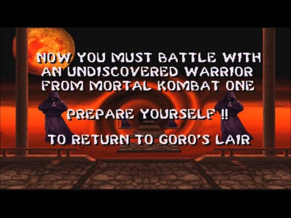 Mortal Kombat II Arcade Scorpion Gameplay on Very Hard no Continues