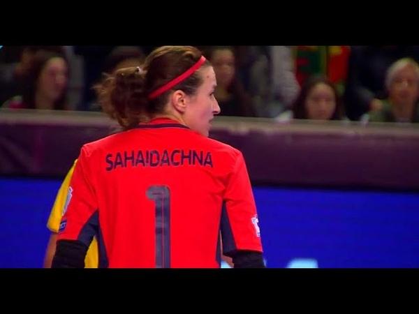 Viktoriia Sahaidachna ● Crazy Saves ● Виктория Сагайдачная WFC Tesla 2019 HD