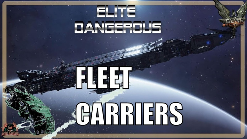 Elite Dangerous Fleet Carriers Reveal Elite Dangerous 2020
