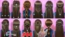 Easy Braided Hairstyles For Girl 64 | 28 Kiểu tết tóc đẹp đơn giản dễ làm cho bạn gái