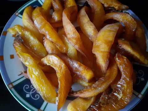 Цукаты из тыквы Рецепт приготовления