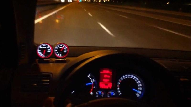 VW Golf R32 Turbo 555hp 0-300 km/h