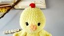 Амигуруми схема Цыплёнок Пи. Игрушки вязаные крючком - Free crochet patterns.