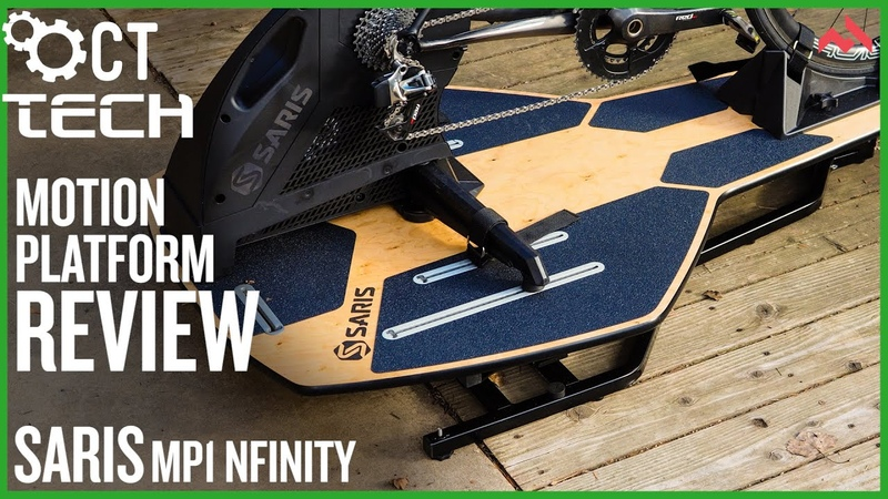 Saris MP1 Nfinity indoor trainer platform review Rocking and rolling