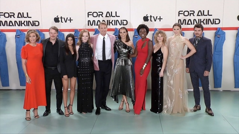 """""""For All Mankind"""" World Premiere With Main Cast Arrivals - Unedited"""