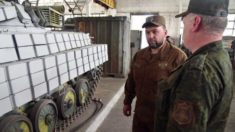 Глава ДНР проверил боеготовность воинских частей