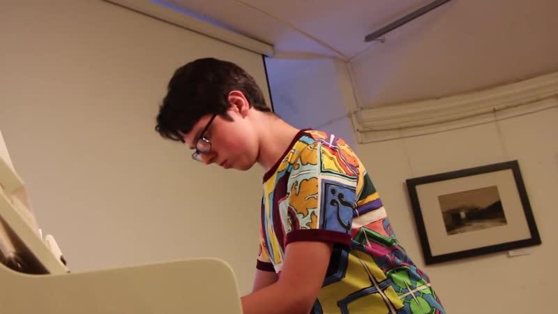 Натаниэль Сассун фортепианный концерт в библиотеке Маяковского