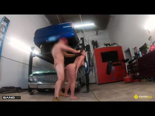 Rose Banks - Covers The Bill With Sex To Get Her Mom's Car Fixed