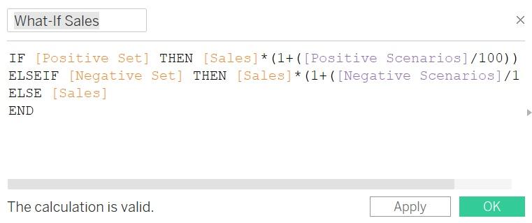 Как создать представление и провести анализ «что - если» с помощью элемента Set Control в Tableau 2020.2, изображение №8