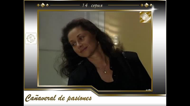 В плену страсти 14 серия \Cañaveral de pasiones - Capítulo 14 [575, Mp4]