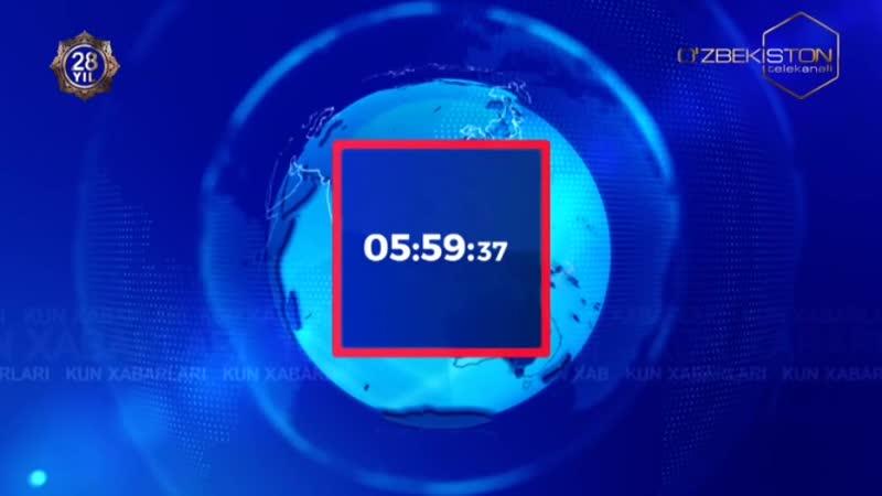 Рестарт эфира канала O`zbekiston Узбекистан 1 9 2019