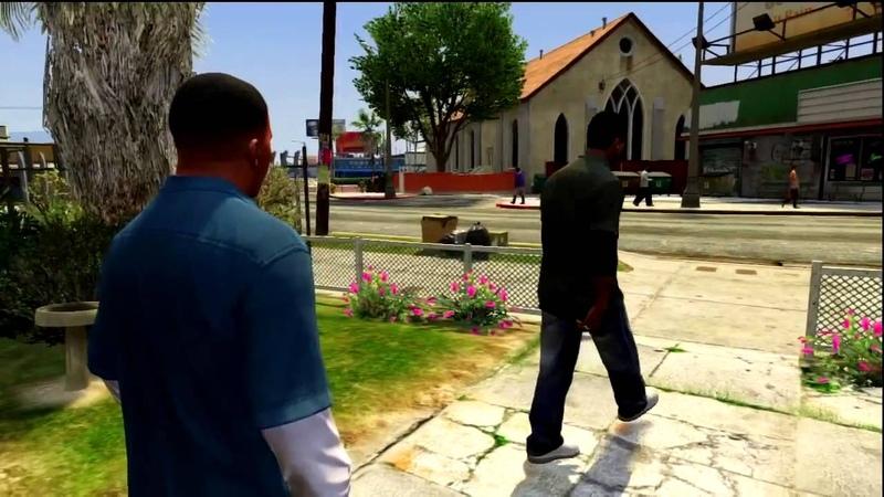 GTA V Lamar Davis - Nigga