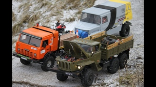 RC Expedition. Offroad. RC  КамАЗ-4911 Extreme, Урал 4320 6х6, Toyota Land Cruiser и другие