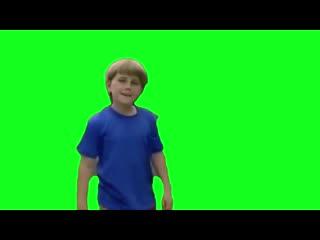 Wait a minute who are you greenscreen kazoo kid