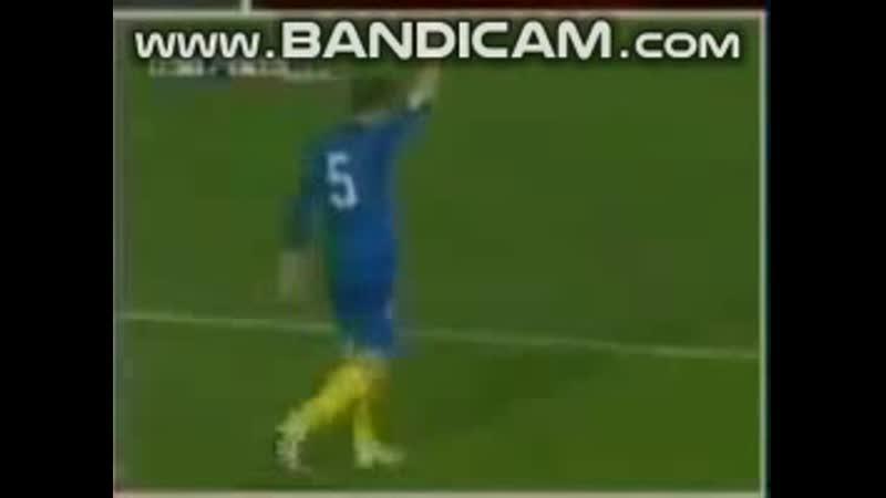 QWC 2006 Kazakhstan vs Denmark 1 2 12 10 2005 Alexsandr Kuchma goal