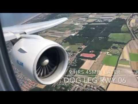 RAW POWER! KLM BOEING 777 200ER Takeoff Landing LAX to AMS w ATC