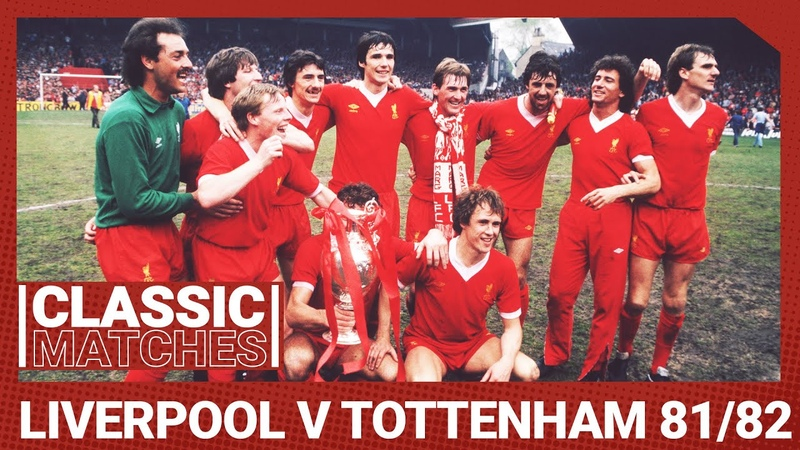 Classic Match Liverpool 3 1 Spurs Souness lifts the title number 13 at Anfield