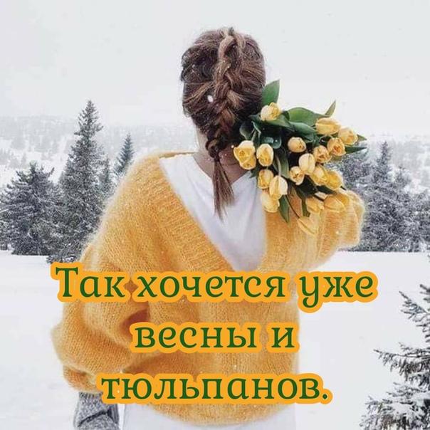 картинки так хочется весны тюльпанчиков и счастья что