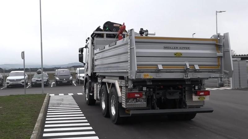 MEILLER Österreich verkauft ersten Kipper aus Oed an Abfalterer Transporte