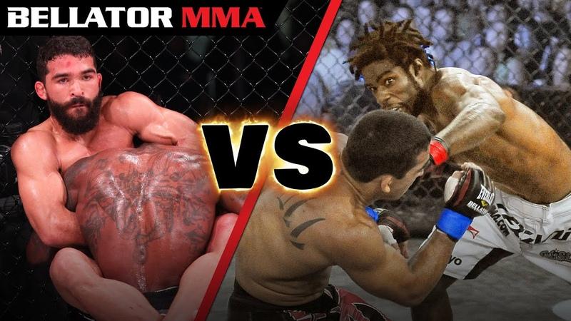 EPIC Rival Fights - Best Of Pitbull vs. Straus   BELLATOR MMA