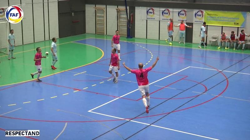 RESUM Final Supercopa Futbol Sala El Tortell Atlètic Escaldes Sideco FC Encamp 6 9