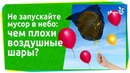 Почему нужно отказаться от запуска воздушных шариков в небо