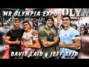 DÍA 1 MR OLYMPIA 2019 EXPO w DAVID LAID JEFF SEID JEREMY BUENDIA