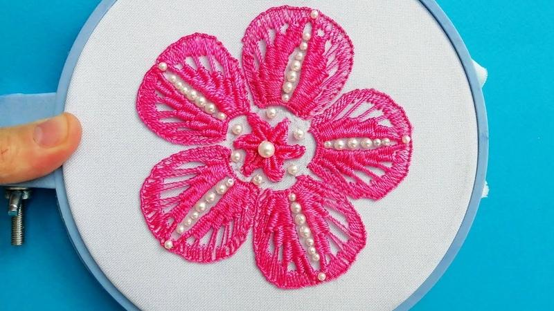Flower Fantasy Macrame * Amazing Hand Embroidery * Easy Bead Work malina_gm