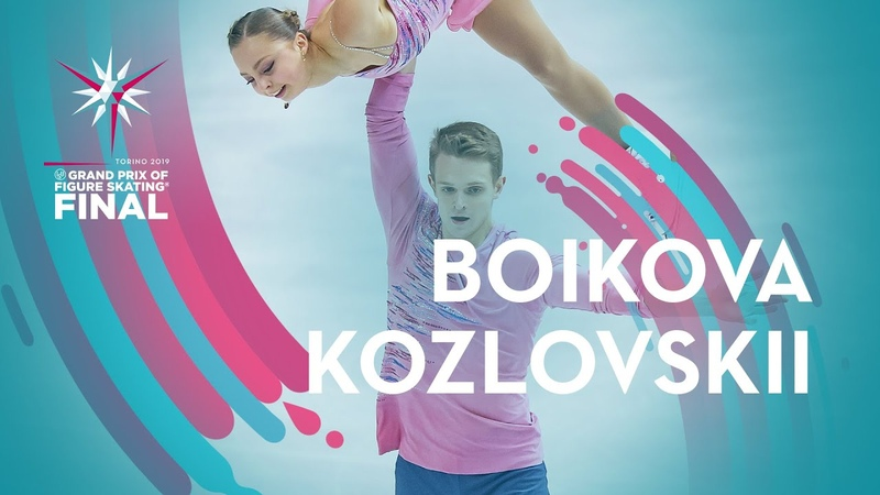 Interview Boikova / Kozlovskii (RUS) | Pairs | Torino 2019 | GPFigure Final