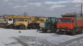 Работа колхоза в зимние дни