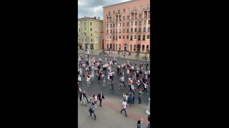 Минск. Проспект независимости