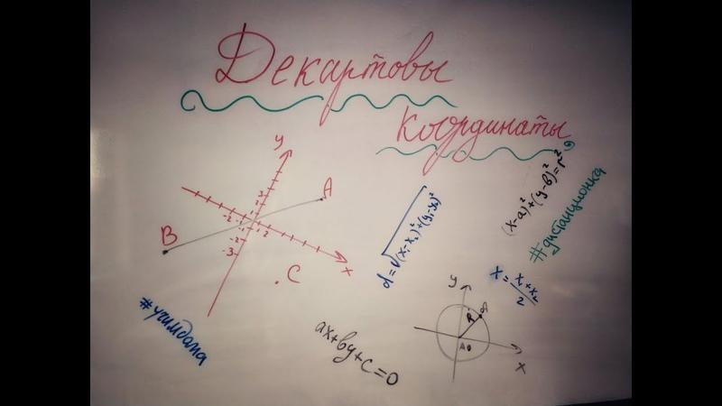 Декартовы координаты