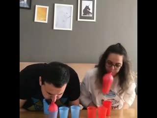 Веселая игра и упражнение для лёгких