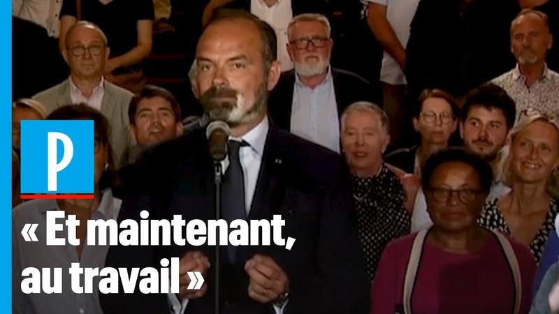 Edouard Philippe réélu à la mairie du Havre veut une ville plus douce plus verte