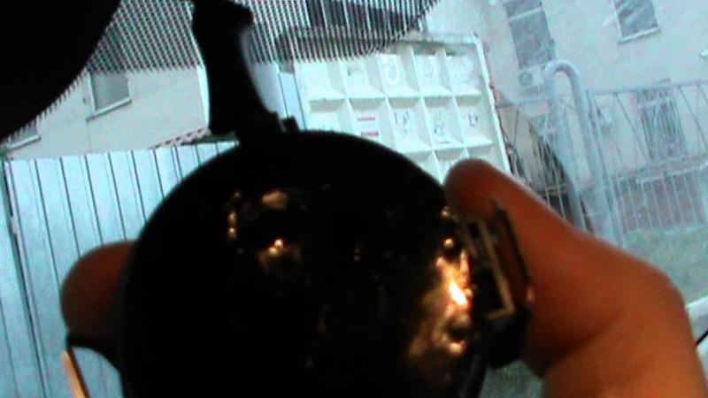 Снятие салонного зеркала и датчика дождя Ниссан Тиида