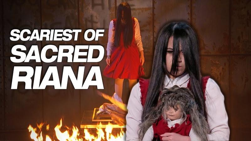 Don't Watch Sacred Riana If You're Scared Of The Dark America's Got Talent 2018
