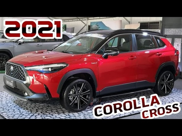 2021 Toyota Corolla Cross New Affordable SUV Test Drive Design Interior